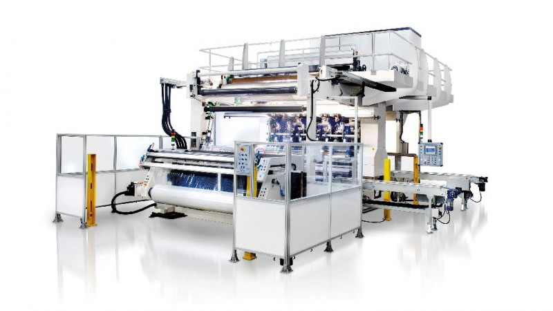 TR 350 Secondary slitter-rewinder for shrink film